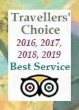 Travellers' choice award from Tripadvisor 2017